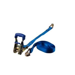 25 mm spännband 2-delat blå