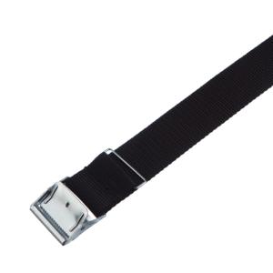 Arno spännrem 40 mm svart PP med blankt spänne