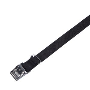 Arno spännrem 25 mm svart PE med rostfritt spänne