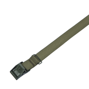 Arno spännrem 25 mm oliv PE med grönt spänne