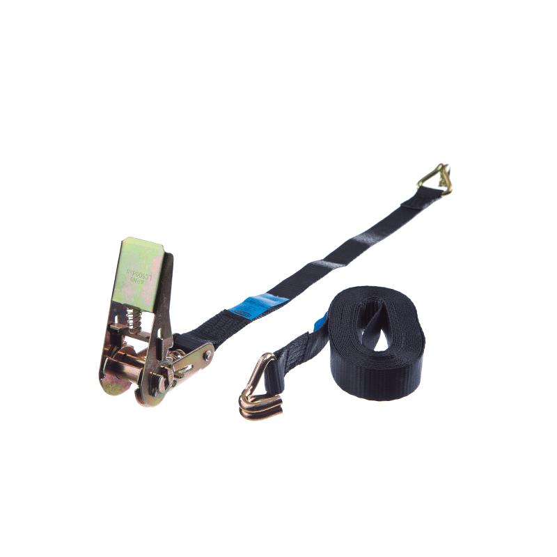 25 mm Spännband 2-delat svart